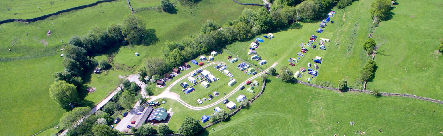 Studfold Caravan, Camping and Glamping Park from above