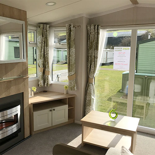 Swift Burgundy caravan for sale at Studfold