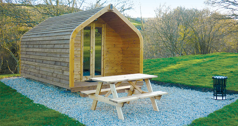 Glamping Pods at Studfold