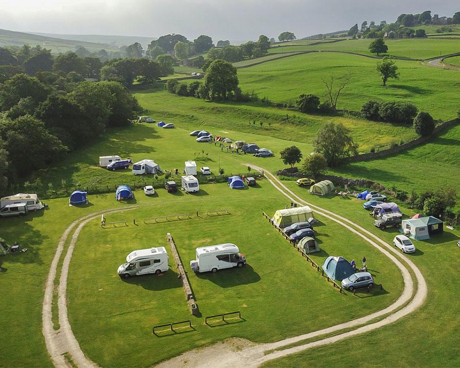 Studfold Caravan, Camping and Glamping Park in the Yorkshire Dales