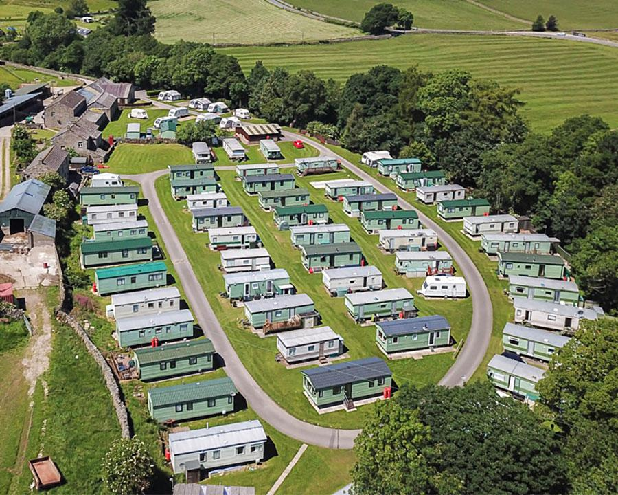 Studfold Static Caravan Park in the Yorkshire Dales