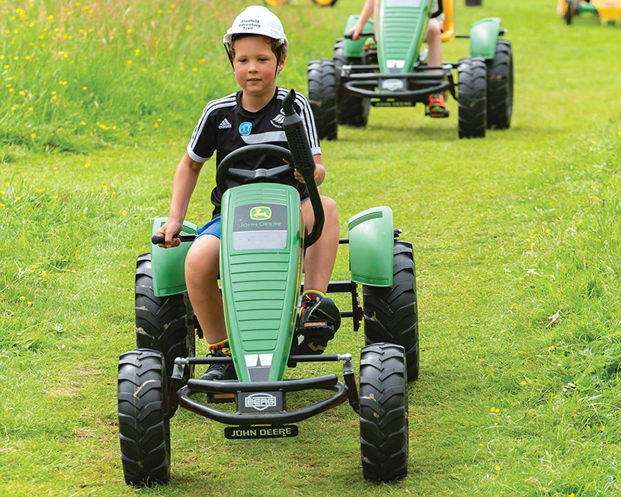 Studfold Go-karts in the Yorkshire Dales