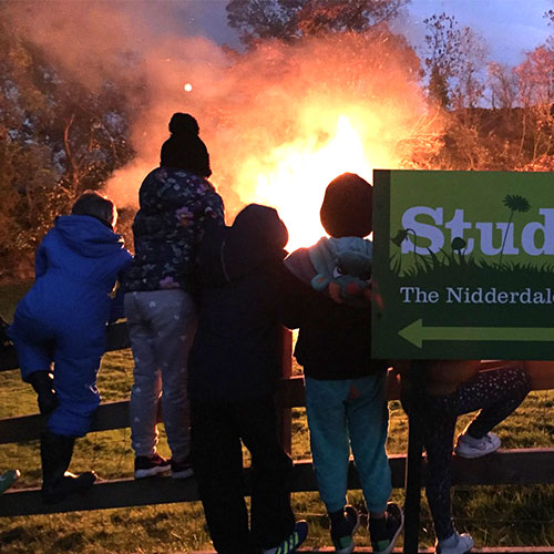 Bonfire Night at Studfold