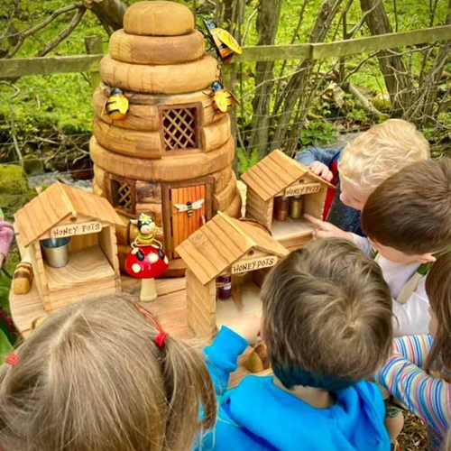 Fairies Houses at Studfold Adventure Trail