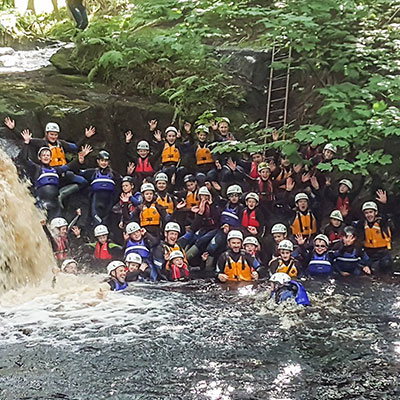 Gorge walking at Studfold