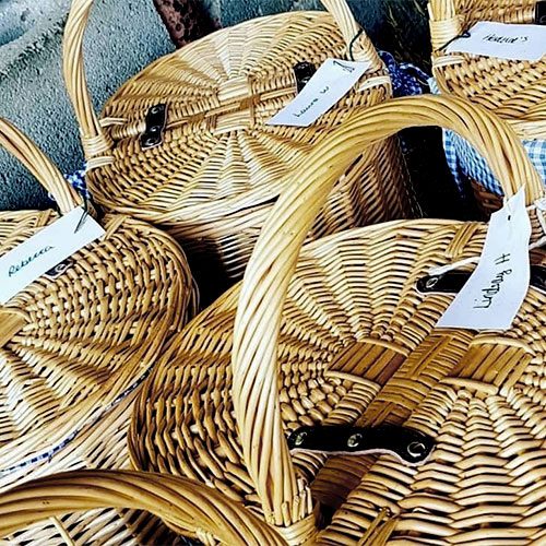 Picnic baskets for Studfold Trail