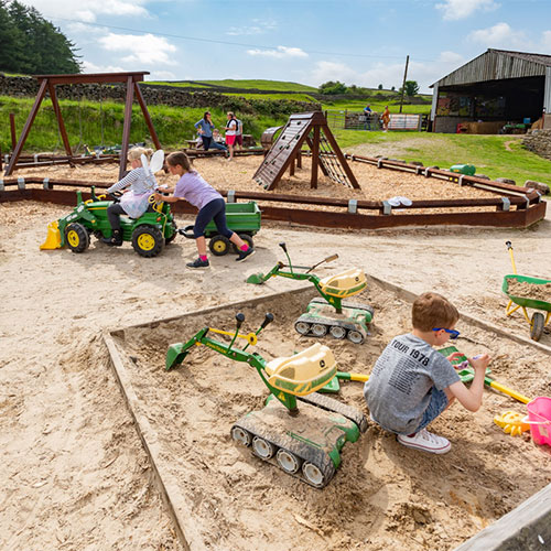 Sandpits at Studfold Adventure Trail