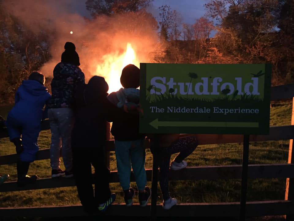 Bonfire at Studfold