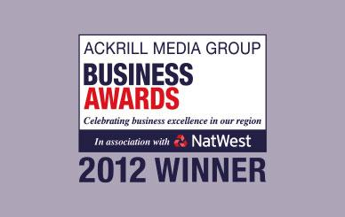 Green Award winner at the 2012 Ackrill Media Group Business Awards