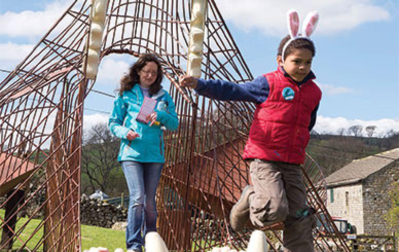 Easter at Studfold Adventure Trail