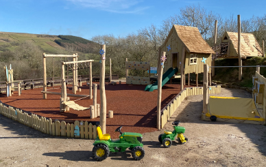 Spectacular new adventure play area and fairy houses